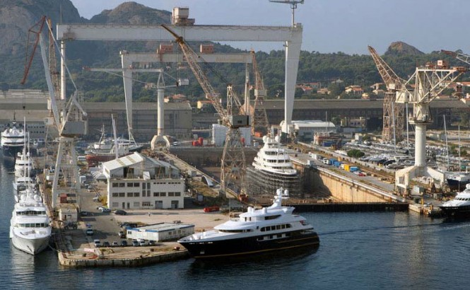 Alewijnse's new superyacht refit and servicing subsidiary to be based at La Ciotat, France