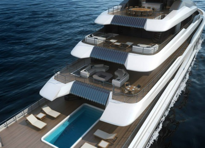 BV80 superyacht - Decks