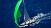 Baltic 108 super yacht WinWin from above - Photo credit to Jesus Renedo