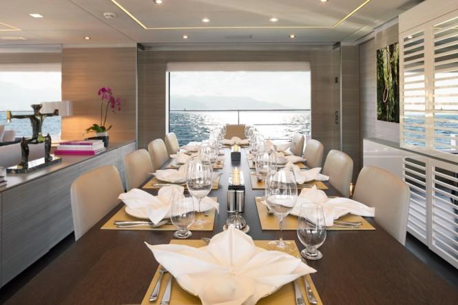 Benetti Motor Yacht Veloce 140 - Dining