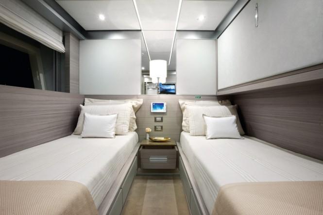 Benetti Motor Yacht Veloce 140 - Twin room