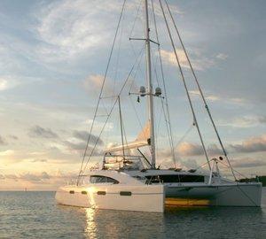 British Virgin Islands Yacht Charter in the Caribbean Aboard Charter Catamaran AKASHA