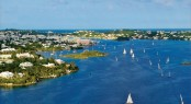 Enjoying perfect sailing conditions Bermuda. Photo credit to Bermuda Tourism