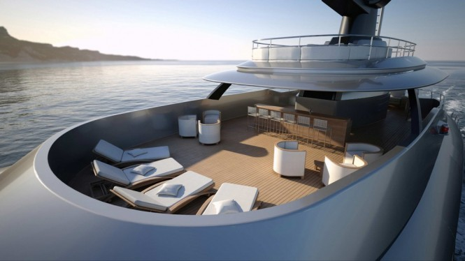 Explorer G2 superyacht - Exterior