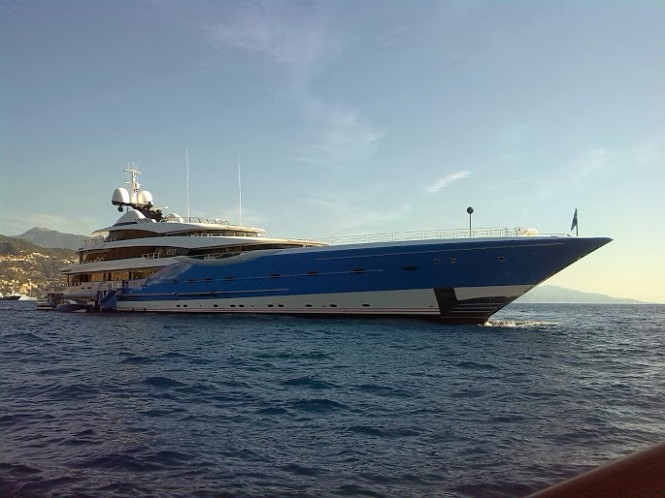 Feadship superyacht Madame Gu at 2014 MYS - Photo by CharterWorld.com
