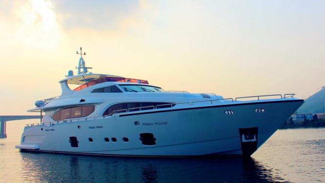Fourth Asteria 108 Yacht Xinyi 868 by Heysea Yachts