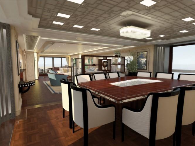 Guido de Groot Art Deco yacht interior