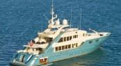 ISA 470 super yacht Aquamarina