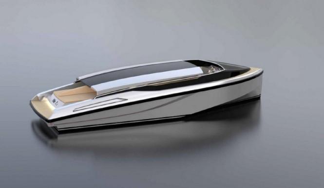 KITE 7.2 yacht tender - upview