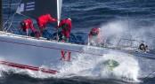 Line Honours Winner superyacht Wild Oats XI - Photo by Rolex Carlo Borlenghi