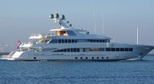 Luxury mega yacht ROCK.IT starting her sea trials - Image credit to Kees Torn