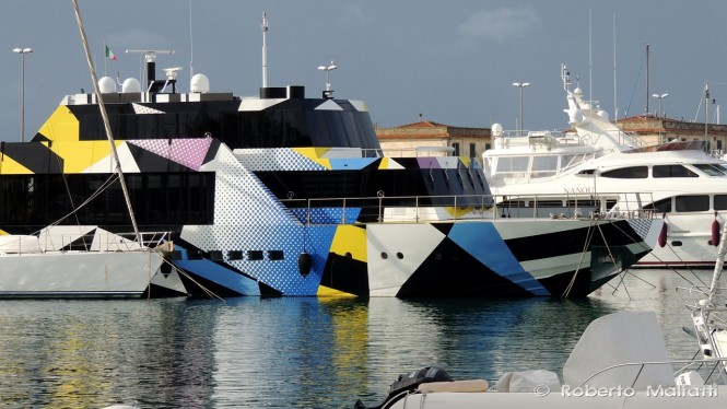 Luxury motor yacht GUILTY