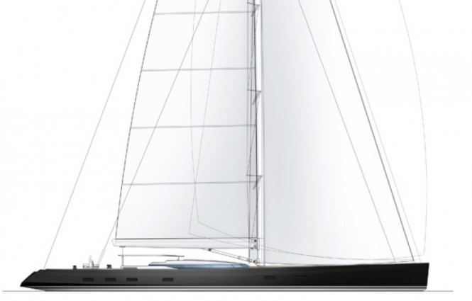 Luxury sailing yacht PS46 by Philippe Briand and Alloy Yachts