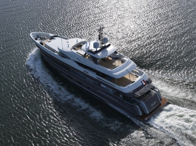 Luxury yacht ALIVE by Heesen Yachts