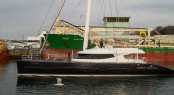 Luxury yacht Mashua Bluu after refit at JFA Yachts