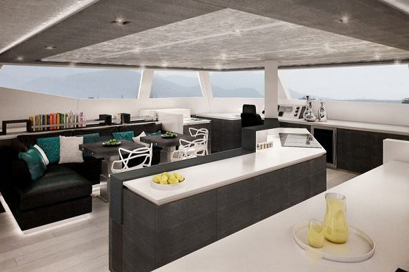 Luxury yacht Sunreef 74 - Interior