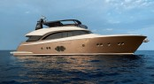 MCY86 superyacht Never Say Never