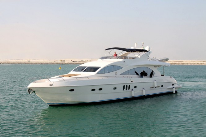 Majesty 101, largest superyacht on display at the Qatar International Boat Show