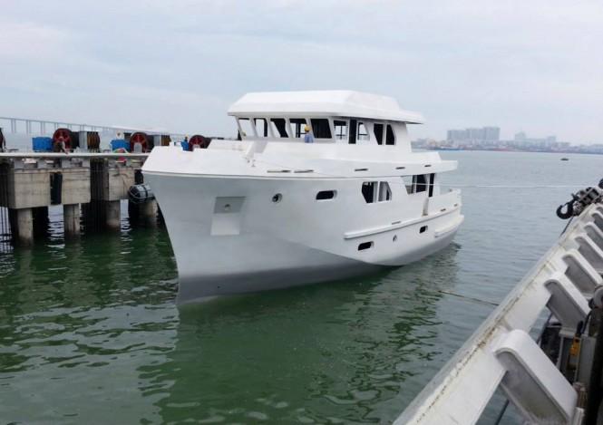 Motor yacht Bering 80