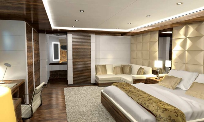 Nassima superyacht - Cabin
