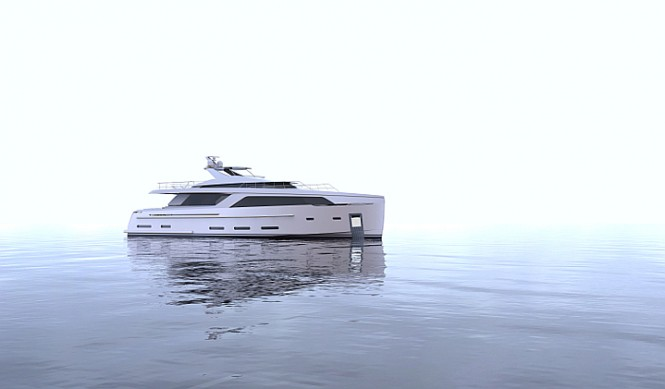 New 30m superyacht concept by Nick Mezas Yacht Design