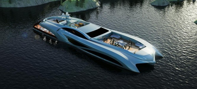 New Xhibitionist Event Super Yacht concept by NEDSHIPGROUP