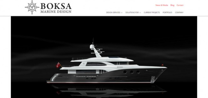 New website launched by Boksa Marine Design