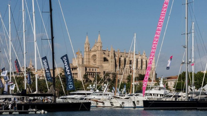 Palma Superyacht Show 2014 hosted by the lovely Palma yacht holiday destination