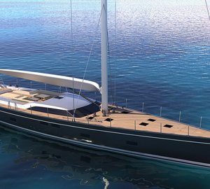 New sailing yacht SW 102#04 under construction at Southern Wind Shipyard