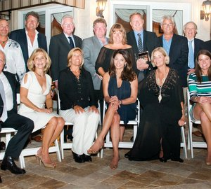 Founders' Dinner honoring 2014 DISCOVERY Yacht vessels hosted by The International SeaKeepers Society