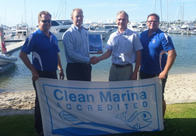 Southport Yacht Club accredited with 'Fish Friendly' status by MIA
