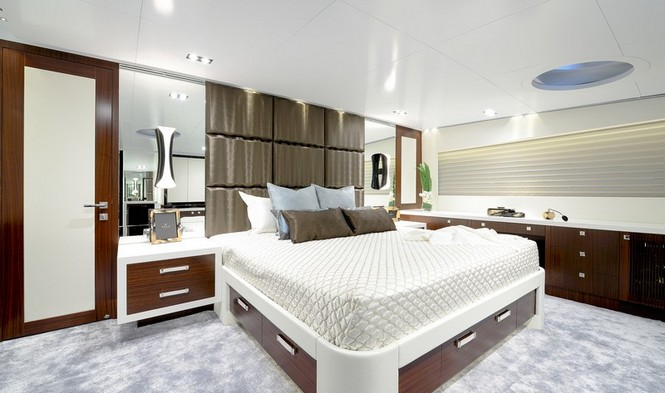 Super yacht Paradise - Cabin