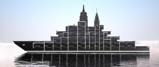 Superyacht Manhattan concept
