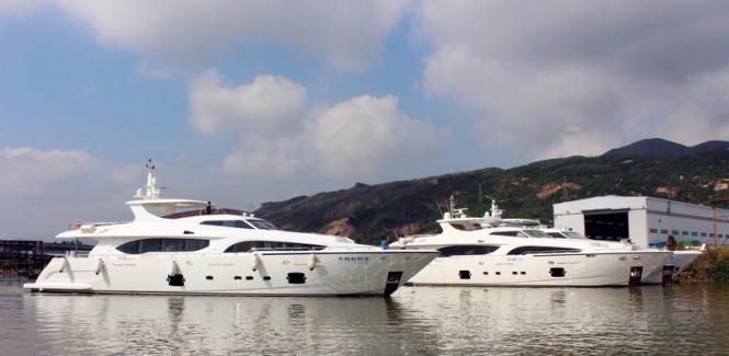 Xinyi 868 Yacht at Heysea Yachts in China