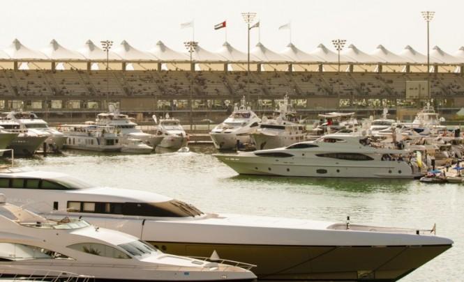Yas Marina during Abu Dhabi Race Weekend