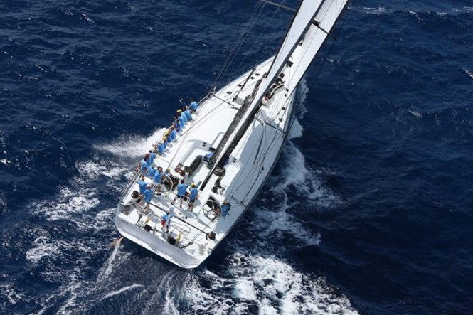 100ft Maxi charter yacht Leopard 3 breaks Atlantic Record