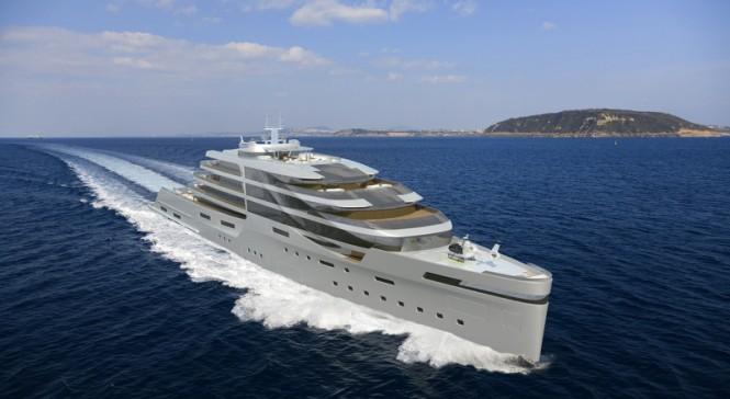 140m IPI140 yacht concept