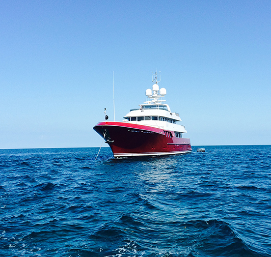 150' Cheoy Lee motor yacht Qing