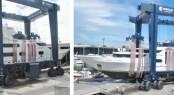 172' Feadship super yacht Gallant Lady under refit at Derecktor - Florida