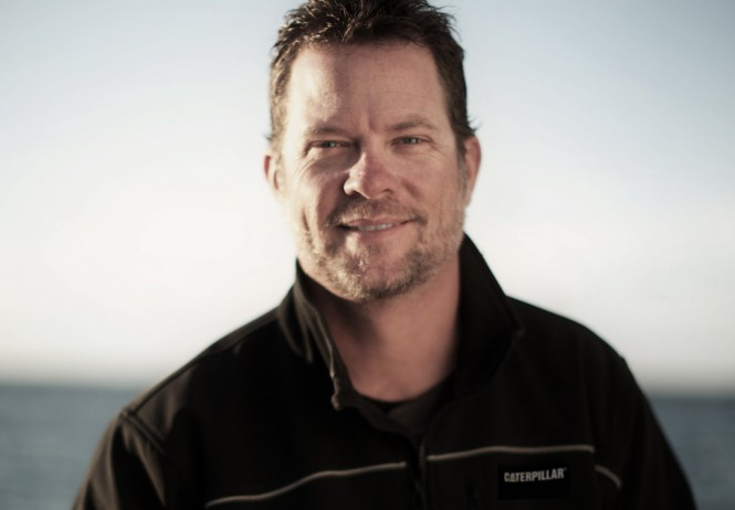 Chris Fischer has led 20 global expeditions aboard his research vessel OCEARCH to advance science and education while unlocking the many mysteries surrounding the life history of white sharks and other giants of the ocean. (photo credit OCEARCH/R. Snow)