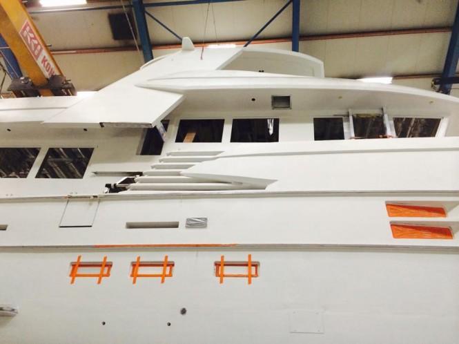 24m superyacht Drettmann Explorer 24 - Image credit to Acico Yachts