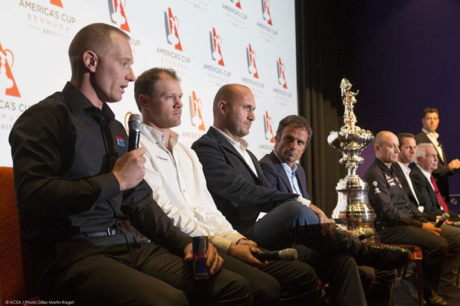 35th America's Cup - Venue Announcement Press Conference - New York (NY), 02.12.2014 - Photo by ACEA Gilles Martin-Raget