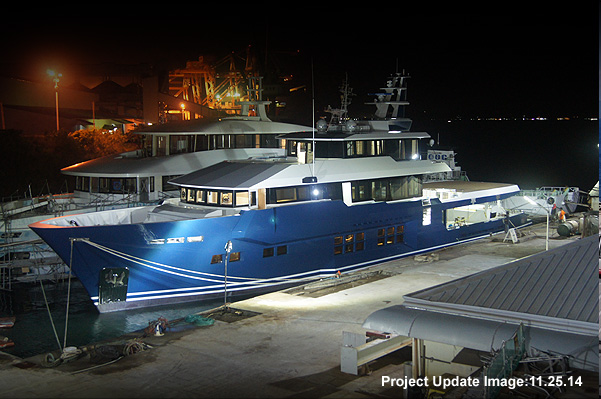 45m explorer superyacht Cklass Nautique