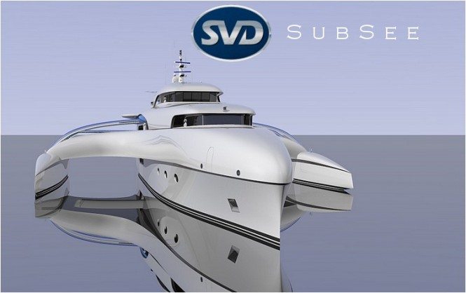 69m mega yacht Project Subsee by SVDesign
