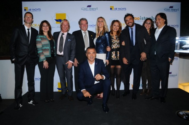 A VIP event to celebrate the new partnership in Turkey