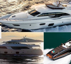 Ferretti Group attends Hong Kong's 2014 Marina Cove Boat Show with three yachts on display
