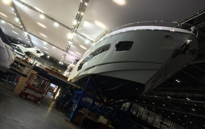 First luxury yachts at Excel London