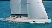 First super yacht Swan 95 by Nautor's Swan