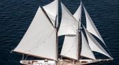 Hull #981 sailing yacht COLUMBIA under sail