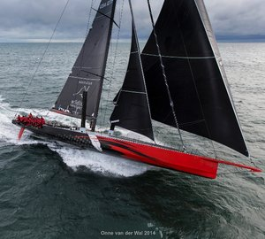 New Supermaxi Yachts to Battle For Line Honors in Transatlantic Race 2015